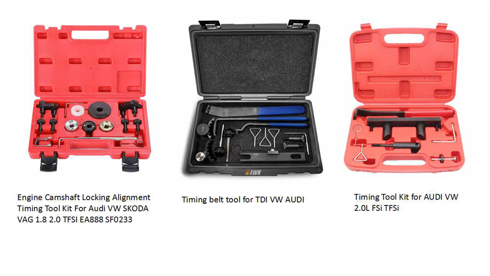 Engine timing tools for Audi VW