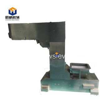 Steel and ep belt elevating bucket conveyor