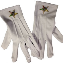 Reliable for Embroidery Cotton Gloves Custom Embroidered Formal Gloves With Masonic LOGO export to Brunei Darussalam Wholesale