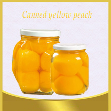canned yellow peach sliced in syrup