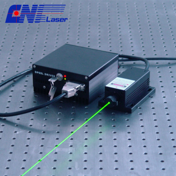 Green diode laser at 520 nm for show