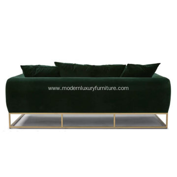 Kits Balsam Green Fabric Sofa