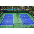 Hard acrylic multi-purpose court ground