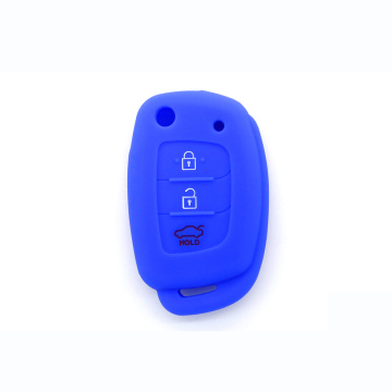 silicon protective car key cover for Hyundai