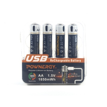 AA Lithium Battery USB Charger