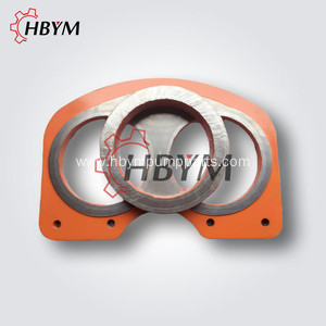 Concrete Pump Spectacle Wear Plate and Cutting Ring