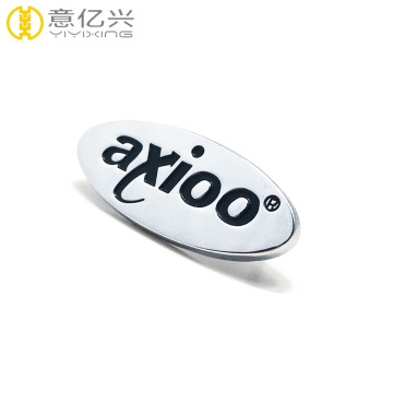Personalized design metal plate for handbags