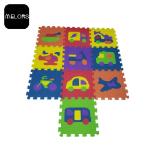 Safe Educational Toy-Style Interlocking EVA Puzzle Mat