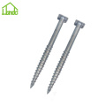 Square Flange Ground Screw Anchor