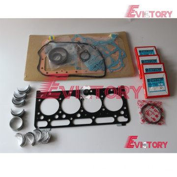 KUBOTA engine V2403DI bearing crankshaft con rod conrod