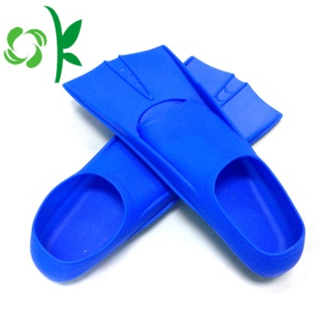 Silicone Children's Swimming Training Fin Filipper Colors