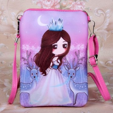 Children's bag princess style bag baby girl's backpack