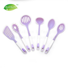 Hot sale for Silicone Cooking Tools 6 Piece Plastic Handle Silicone Kitchen Tools Set supply to Netherlands Supplier