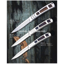 Best Quality for other handle pocket knife Portable Cupronickel and Pakka Wood Handle Pocket Knives supply to Spain Factories