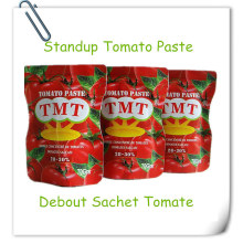 Sachet Tomato Paste with Fresh Raw Material