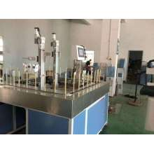 Small automatic spraying line