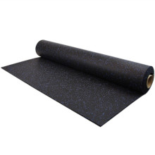 CE Certification rolled gym rubber flooring