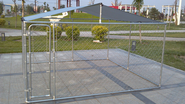 chain link fence panels cage