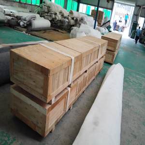 Wodden packaging of Desulfurization filter belt