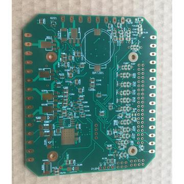2 layer ENEPIG PCB with green  solder
