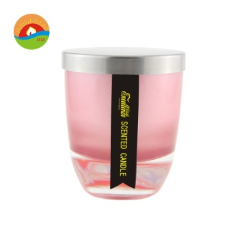 Pillar Scented Glass Jar Candle