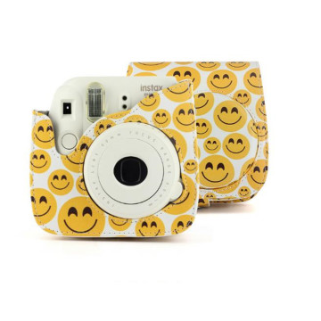 Smiley Pattern Stylish Camera Bag