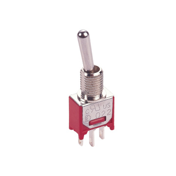 Long lasting 2/3  Positions Sub-miniature Toggle Switch