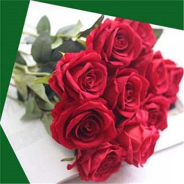 Decorative artificial flower rose