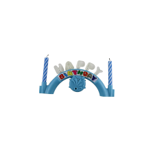 Birthday cake candles alphabet professional candle