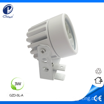Mini 3W waterproof outdoor spot light
