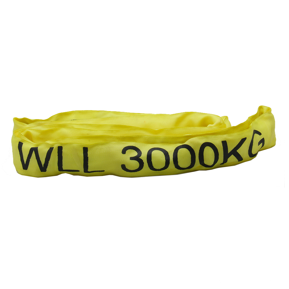 3T Loading Capacity Polyester Endless Round Sling