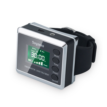 soft cold wrist laser therapy apparatus watch