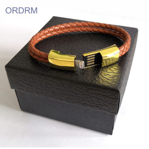 Cool Leather Bracelets Charging Cable For Guys