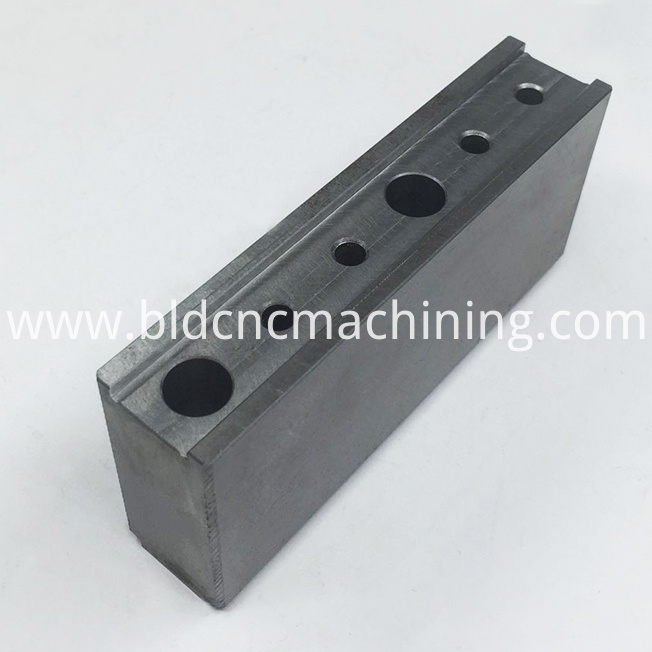 steel component machining
