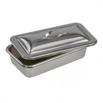 Stainless steel instrument tray with lid Mould