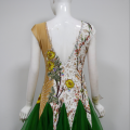 Green dance competition costumes
