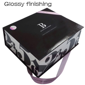 Rigid Book Shape Private Design Gift Paper Box