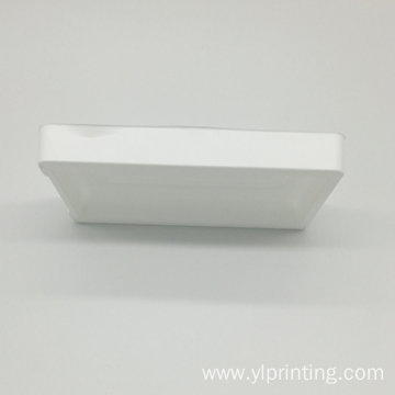 custom PVC transparent blister packing tray for earphone