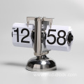 attractive table flip clock with balance bell