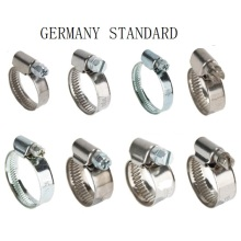 China Exporter for China Hose Clamps,Flexible Clamps,Warm Drive Clamps Manufacturer and Supplier Germany Type Hose Clamp supply to France Wholesale