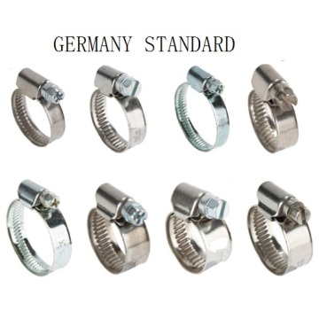 China Exporter for Stainless Steel Hose Clamps Germany Type Hose Clamp export to United States Supplier