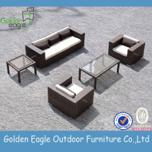 Online Manufacturer for Wicker Sofa Set Paito furniture set Outdoor Furnitue With Cushion export to Russian Federation Factories