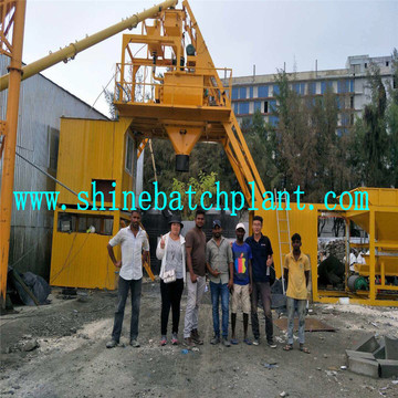 Foundation Free Ready Mix Concrete Plant