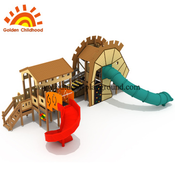 outdoor playset wooden for kids