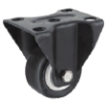 2 Inch Rigid Swivel TPR Material Small Caster