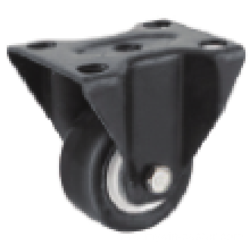 2.5 Inch Rigid Swivel TPR Material Small Caster