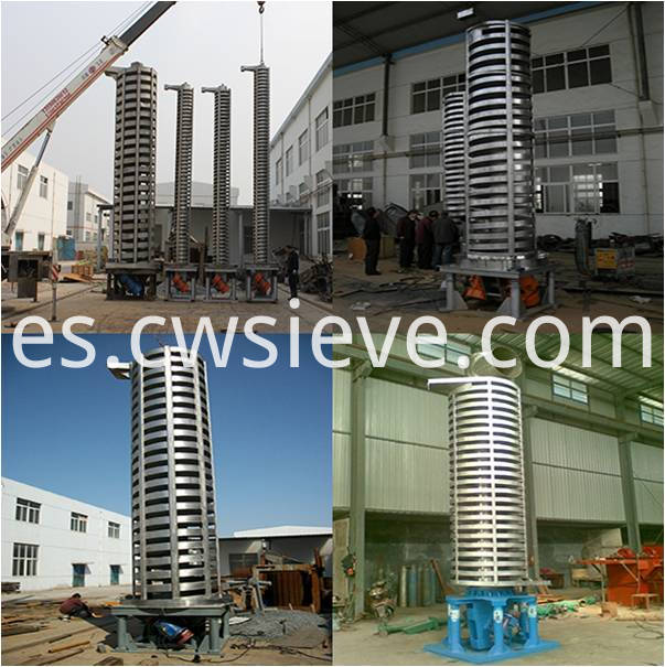 Sprial Vertical Conveyor