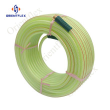 1 inch pvc transparent braided water hose