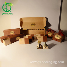 Chocolate box  with cardboard material