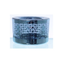 Glass Laser Engraved Tealight Candle Holder